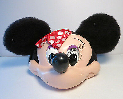 Disney Minnie Mouse Face Vintage Hat Snapback Adjustable Character Fashions USA