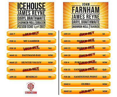 Red Hot Summer Tour with Icehouse Tickets