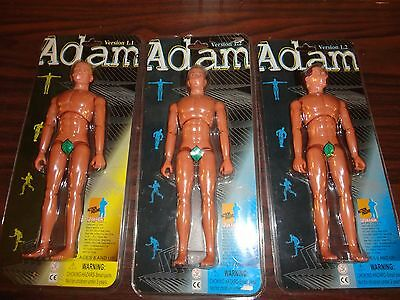 Adam Version Nude Lot of 3 1/6 Scale Action Figure 1.1 & 1.2 NEW