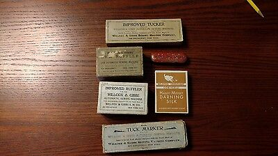 Tremendous Lot of Antique and Vintage Sewing Tools and Collectibles