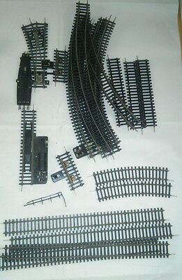 22 Piece Lot Berliner Tt Bahnen Tracks Strts Curves 1/2 St 1/2 Curves Switches