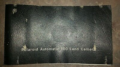Vintage Polaroid Land Camera Automatic 100 manual only.