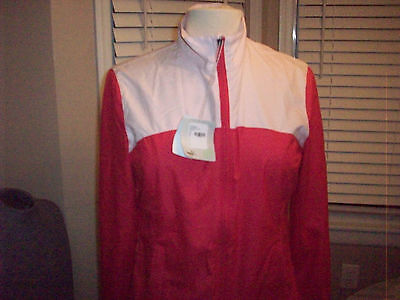 Womens Puma golf storm cell force 1  tech wind jacket Sz S small NEW WITH TAGS