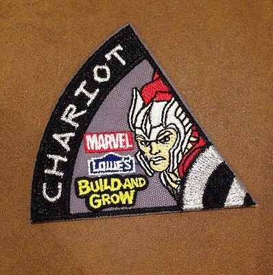 Marvel Avengers Lowes Build And Grow Iron On Patch Chariot