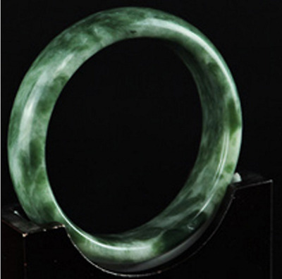 Natural Chinese jade hand-carved bracelet,beautiful bangle 56-64mm~A001
