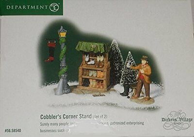 Department 56 'Cobbler's Corner Stand' (Set of 2) 56.58540 Dickens Village