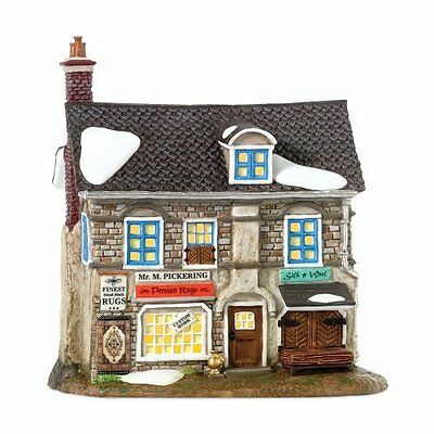 Department 56 Dickens Village M. Pickering Finest Persian Rugs