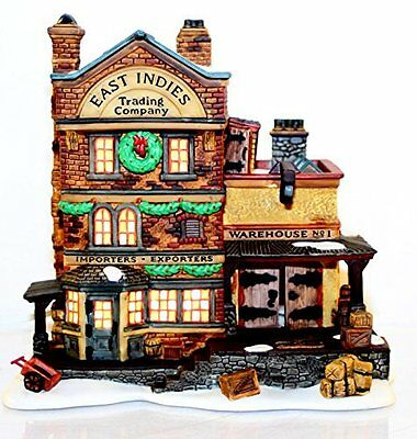 "Department 56 ""East Indies Trading Co."" 58302 Heritage Dickens' Village Series"