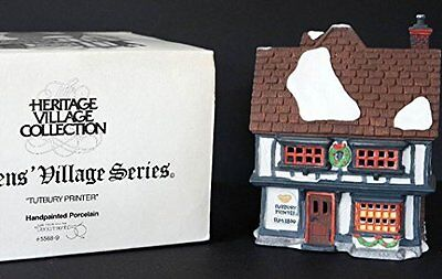 Department 56 Tutbury Printer Heritage Dickens' Village Series 55689