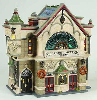 Department 56 Theatre of the Macabre Dickens Village 58706