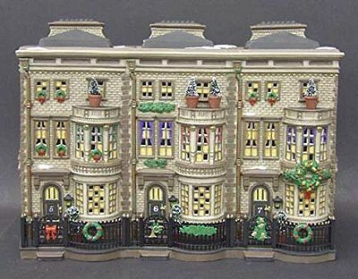 Deptartment 56 Dickens Mulberrie Court Brownstones 58345 by Department 56