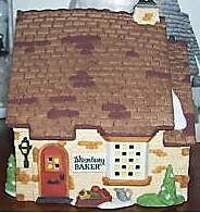 "Department 56 ""Wrenbury Baker"" Retired Dickens Village"