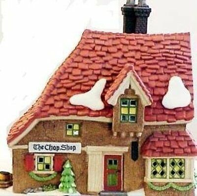 "Department 56 ""The Chop Shop"" Lighted House Retired"