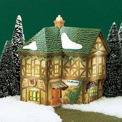 Department 56 T. Puddlewick Spectacle Shop Dickens' Village Series