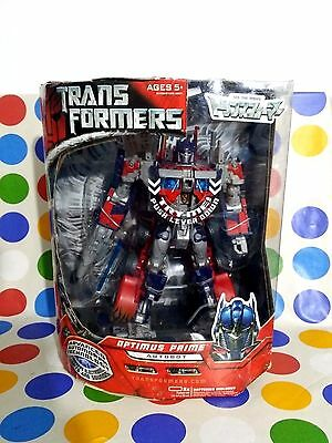 Transformers Optimus Prime Leader Class New Advanced Automorph Technology Hasbro