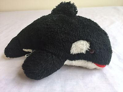 RARE Vintage 1979 Sea World Shamoo the Whale Plush With Amber Colored Eyes
