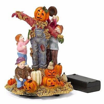 Building The Scarecrow Snow Village HALLOWEEN Department 56 55203