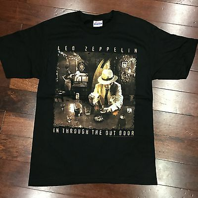 2006 Led Zeppelin In Through The Out Door Licensed Album T Shirt New Vintage M