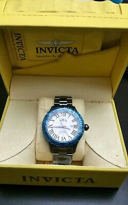 Invicta Men's Watch Blue  Brand New