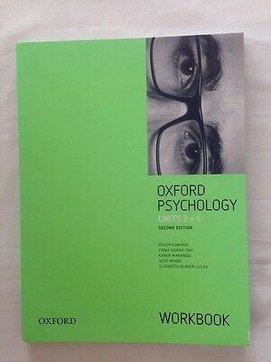 Oxford VCE Psychology Units 3+4 Workbook by Karen Marangio, Elizabeth...