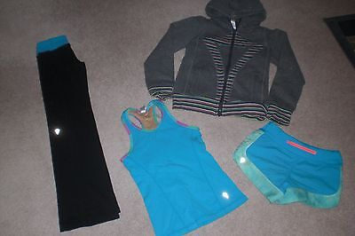 Lot of Girls Ivivva by Lululemon Pants, Shorts, Hoodie and Tank sz 6