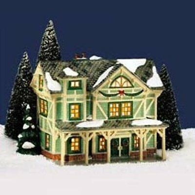 Department 56 Snow Village Stick Style House