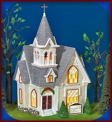 Department 56 Meadowbrook Church ~The Original Snow Village