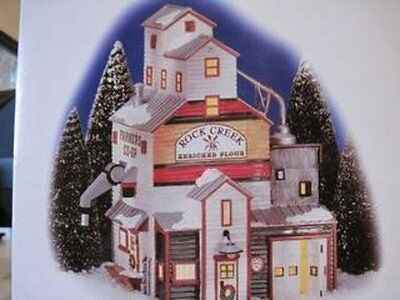 "Department 56 Snow Village ""The Farmer's Co-op Granary"""