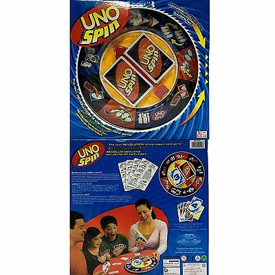 New Board Game UNO SPIN Revolution Educational Toy Hot Fun Party Fun Game