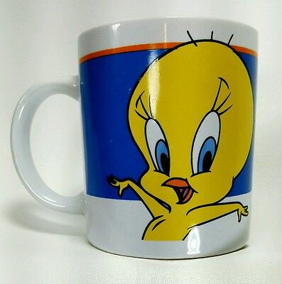 Warner Bros Tweety Bird Gibson Warner Brothers 2000 Coffee Mug Cup