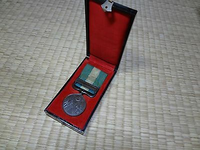1894 First Sino-Japanese War Medal Japanese Antique Army Navy Meiji China Aa1
