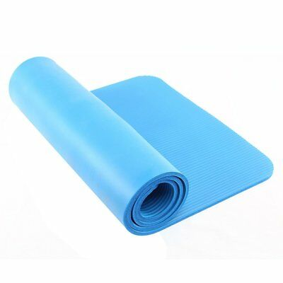 15mm Thick Exercise Fitness Physio Pilates Gym Mats Yoga Mat Non Slip Carrier UK