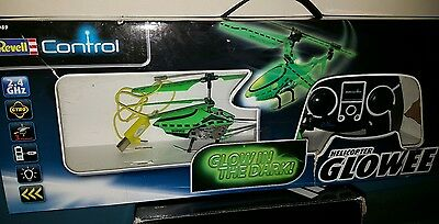 glow in the dark radio control helicopter