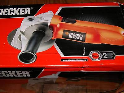 NEW BLACK & DECKER ANGLE GRINDER 900 W, 100 mm, 4 inch KG900-XE  [BIG 900 WALTS]
