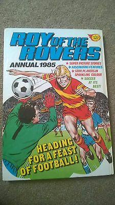 Roy Of The Rovers Annual 1985 Football