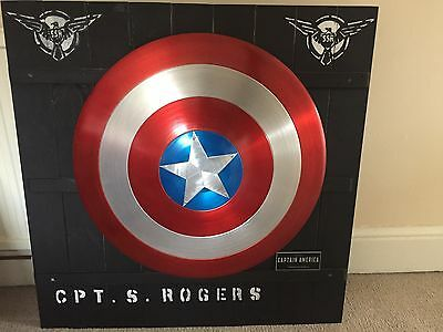 Custom Captain America Shield Metal Aluminium