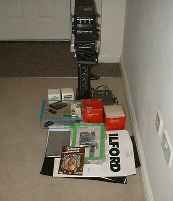 Durst M 605 Col/B&W Enlarger with 80mm lens, Timer & accessories see description