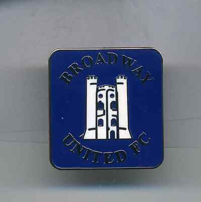 Broadway United  Fc  Non League Football Pin Badge