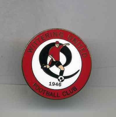Wittering United  Fc  Non League Football Pin Badge