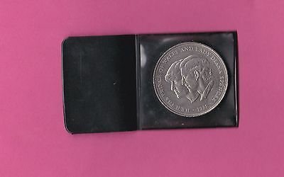 1981 Decimal crown charles and diana wedding crown excellent condition in wallet
