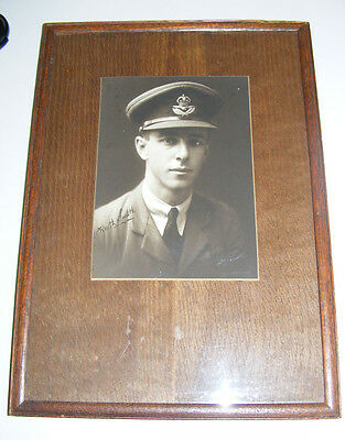 AUSTRALIA 1919 England-Australia Flight Keith Smith SIGNED photo rare autograph!