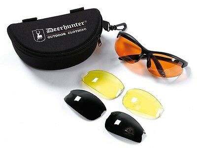 Deerhunter Shooting Glasses with replacement glasses