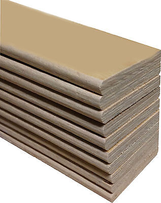 Replacement Beech Sprung Bed Slats For A Double Bed (4'6'') - Pack Of 5