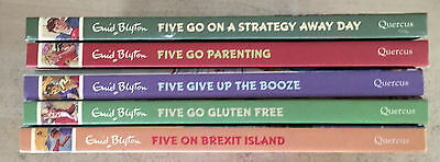 Five Go Parenting; Strategy Away Day; Give Up Booze; Go Gluten Free; On Brexit