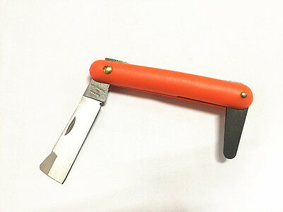1 pc GRAFTING / PRUNING KNIFE With FIBREGLASS HANDLE-Band New