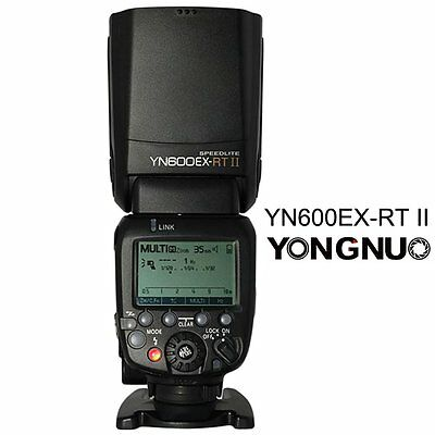 Yongnuo YN600EX-RT II E-TTL HSS Wireless Flash Speedlite for Canon 700D 650D UK