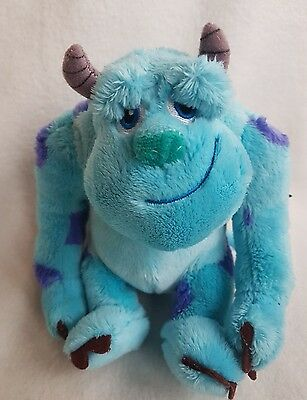 "Sulley Disney Pixar Monsters Inc, University Sully Soft  Plush Toy 10"" new"