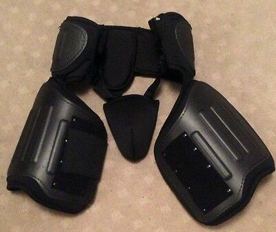 Security Tactical Protective Lower Torso Hip Thigh Groin Guards Dog Handlers New