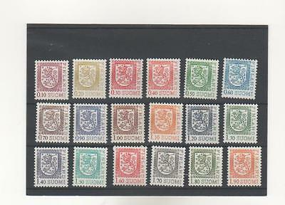 Finland stamps 1975-1985, Coat of Arms n. 18 v. MNH .