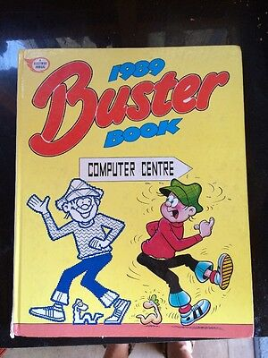 THE BUSTER BOOK 1988 Hardback Very Tidy